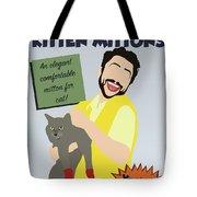 Kitten Mittons Tote Bag