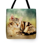Kitten - Painting Tote Bag