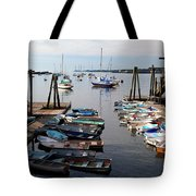 Kittery Point Fishing Boats Tote Bag
