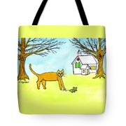 Kitty And The Mouse Tote Bag