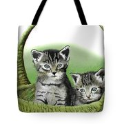 Kitty Caddy Tote Bag