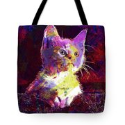 Kitty Cat Kitten Pet Animal Cute  Tote Bag