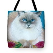 Kitty Coiffure Tote Bag