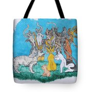 Kitty Confusion Tote Bag