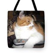 Kitty Control Tote Bag