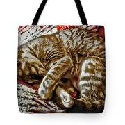 Kitty Dreams Tote Bag