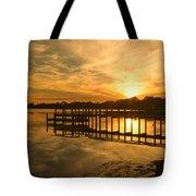 Kitty Hawk Sunset 2 Tote Bag