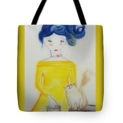 Kitty Love Tote Bag