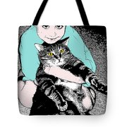 Kitty Loves Me Tote Bag