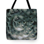 Kitty Portrait  Tote Bag