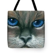Kitty Starry Eyes Tote Bag