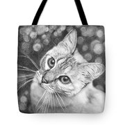 Kitty The Cat Tote Bag
