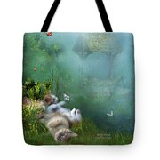 Kitty Wishes Tote Bag