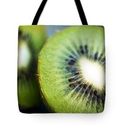 Kiwi Fruit Halves Tote Bag by Ray Laskowitz - Printscapes