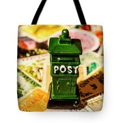 Kiwi Postage Scene Tote Bag
