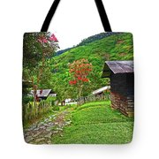 Kiwi Village Of Papua Tote Bag