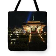 Kiyomizu-dera At Night Tote Bag