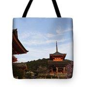 Kiyomizu-dera In Bloom Tote Bag
