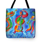 Klezmer On The Roof Tote Bag
