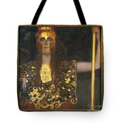 Klimt - Pallas Athena 1898 Tote Bag