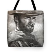 Klint Eastwood Tote Bag