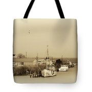 Knapps Narrows Tilghman Island Tote Bag