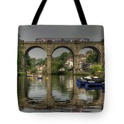 Knaresborough Viaduct Tote Bag