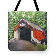 Knechts Covered Bridge Tote Bag