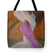 Kneeling Lady  Tote Bag