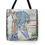 Knight And Monster Tote Bag