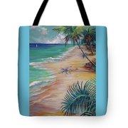 Knight Beach Tote Bag