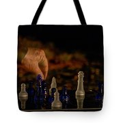 Knight Moves Tote Bag