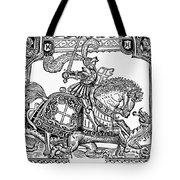 Knights: English, 1527 Tote Bag