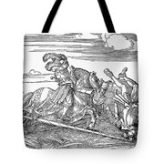 Knights: Jousting, 1517 Tote Bag