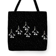 Knights Of Thunder Tote Bag