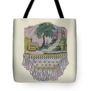 Knit Beaded Bag Tote Bag