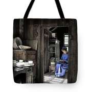 Knitting Room Tote Bag