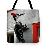 Knock On The Wall Tote Bag