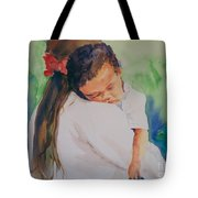 Knocked Out Tote Bag