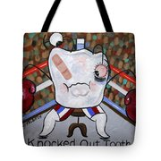 Knocked Out Tooth Tote Bag by Anthony Falbo