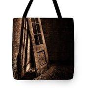 Knockin' At The Wrong Door Tote Bag by Evelina Kremsdorf
