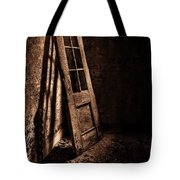 Knockin' At The Wrong Door Tote Bag