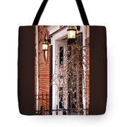 Knocking At Your Door Tote Bag