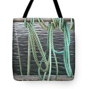 Knot Of My Warf II Tote Bag by Stephen Mitchell