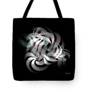 Knotplot 1 - Use Red-cyan 3d Glasses  Tote Bag