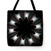 Knotplot 10 - Use Red-cyan 3d Glasses Tote Bag