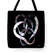 Knotplot 2 - Use Red-cyan 3d Glasses Tote Bag