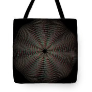 Knotplot 9 - Use Red-cyan 3d Glasses Tote Bag
