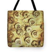 Knots And Buttons Tote Bag