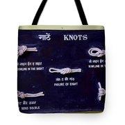 Knots Tote Bag